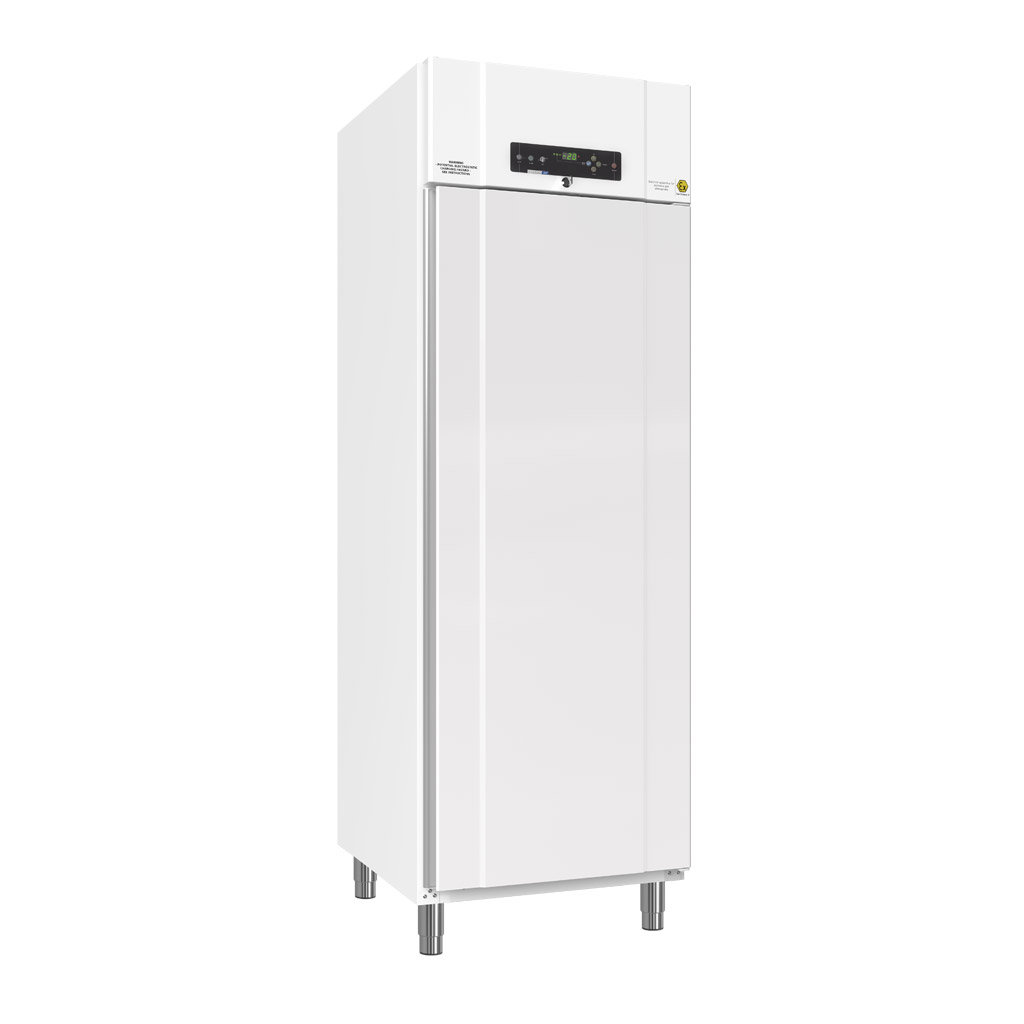 BIOBASIC 600 – Full-Height Lab Refrigerator Or Freezer With 4 Wire Shelves (total Number), White Exterior With Right-hinged Door.