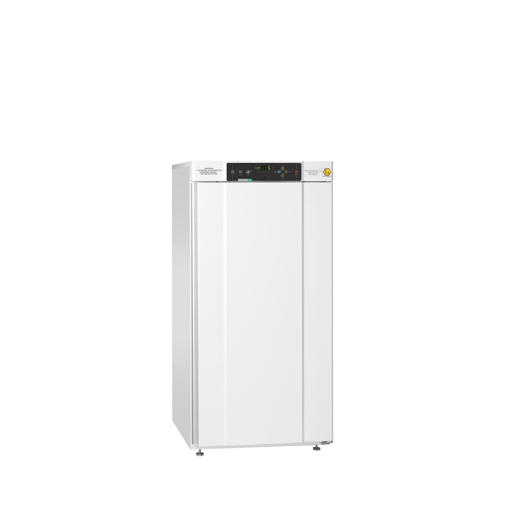 BIOBASIC 310 – Intermediate Lab Refrigerator Or Freezer With 4 Wire Shelves (total Number), White Exterior With Right-hinged Door.